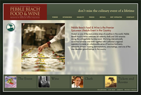Pebble Beach Food and Wine