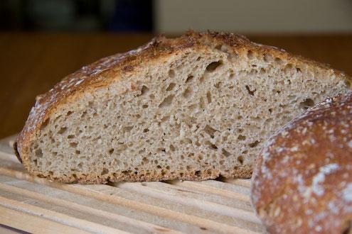 no-knead pain au levain